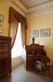 Innenraum des alten Adel Palastes Stockbilder