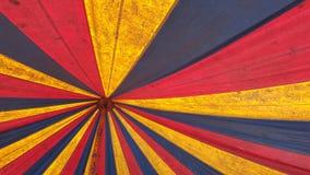 Innenraum des alten Zeltes Stockbilder