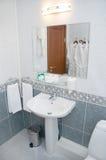 Innenraum des Badezimmers Stockfoto
