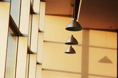Innenraum des Cafés Lizenzfreies Stockbild