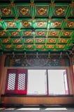 Innenraum des chinesischen Tempels lizenzfreie stockfotos
