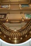 Innenraum des Denver-Kapitol-Gebäudes Stockbilder