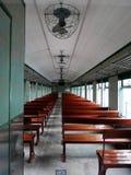 Innenraum des elektrischen keines Maschinen-Dieselzugs 51 stockfotografie
