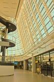Innenraum des Flughafens Sofia Lizenzfreie Stockfotos