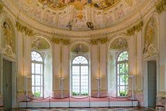 Innenraum des Garten-Pavillons von Melk-Abtei, Österreich Lizenzfreie Stockfotos