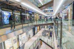 Innenraum des Handelszentrums Melbourne in Melbourne lizenzfreie stockfotos