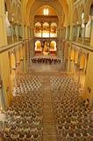 Innenraum des Heiligen Louis Cathedral Carthage, Tunesien Stockbilder