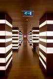 Innenraum des Hotels Stockbild