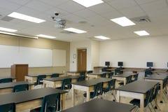 Innenraum des Klassenzimmers Stockfotografie