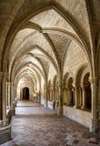 Innenraum des Klosters von Veruela Lizenzfreies Stockfoto