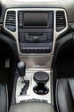 Innenraum des Luxusautos Lizenzfreies Stockbild