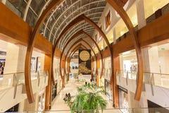 Innenraum des Malls 360 in Kuwait Stockfotografie