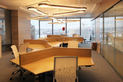 Innenraum des modernen Büros stockfoto