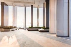 Innenraum des modernen Büros, abstrakter Hintergrund Speicher, Innenraum, lizenzfreie stockfotografie