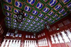 Innenraum des Nordtors der alten Stadt von Dali, alte Stadt von Dali, Yunnan, China Dali, Yunnan, China stockfoto