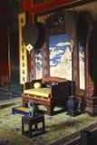 Innenraum des Palastes des chinesischen Kaisers im verbotenen C lizenzfreie stockfotos