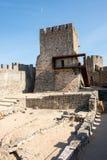 Innenraum des Pombal-Schlosses lizenzfreie stockfotografie