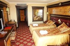 Innenraum des Raumes im Hotel. Stockfotos