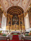 Innenraum des S Bento-Kloster Stockbilder