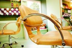 Innenraum des Schönheits-Salons Lizenzfreies Stockfoto
