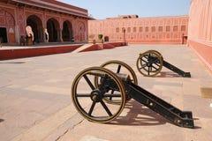 Innenraum des Stadtpalastes, Jaipur, Indien Lizenzfreies Stockbild