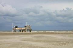 Innenraum des Strandes House Stockbilder