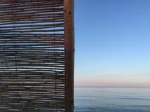 Innenraum des Strandes House Stockbild