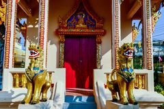Innenraum des Tempels, digitales Fotobild als Hintergrund lizenzfreie stockfotos