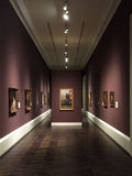 Innenraum des Wiesen-Museums Dallas TX stockbild