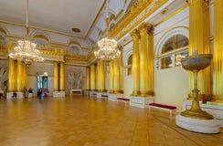 Innenraum des Winter-Palastes. St Petersburg Stockfotos