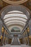 Innenraum des Zustands-Kapitols von Utah stockfotografie