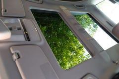 Innenraum (Designo) von benutztem Mercedes-Benz S-klasses350 lang (W221 Lizenzfreie Stockfotografie