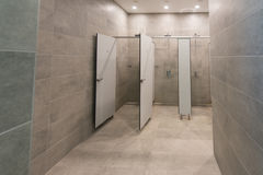 Innenraum einer Duschkabine Lizenzfreie Stockfotografie