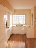 Innenraum einer Küche Stockbild