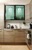 Innenraum einer Küche Stockfotos