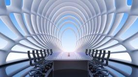 Innenraum einer Konferenz einer Halle Stockfoto