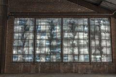Innenraum einer verlassenen Fabrik 2 Stockfoto