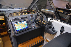 Innenraum eines Bootes Lizenzfreie Stockfotografie
