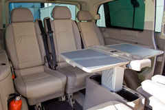 Innenraum eines Mehrzweckfahrzeugs Lizenzfreie Stockfotos