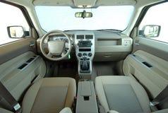 Innenraum eines modernen Autos Lizenzfreie Stockfotos