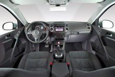 Innenraum eines modernen Autos Stockfotografie