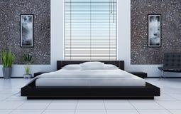 Innenraum eines schlafenden Raumes Lizenzfreies Stockbild