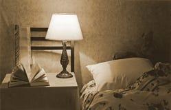 Innenraum eines Schlafzimmers Stockfotos