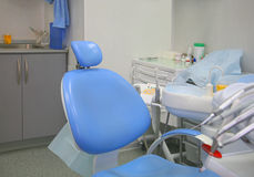 Innenraum eines stomatologic Kabinetts Stockfotografie
