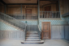Innenraum eines verlassenen Hauses Stockbild