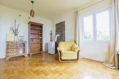 Innenraum eines Wohnzimmers Lizenzfreies Stockfoto