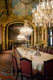 Innenraum im Louvre Stockfoto