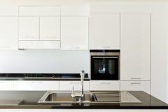 Innenraum, Küche Lizenzfreie Stockfotografie