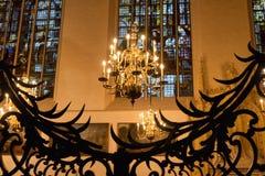 Innenraum Kathedrale der Str.-Michael und Str. Gudula stockfotografie