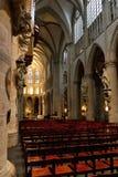 Innenraum Kathedrale der Str.-Michael und Str. Gudula lizenzfreie stockbilder